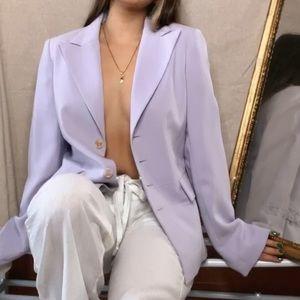 Pale Lilac Blazer